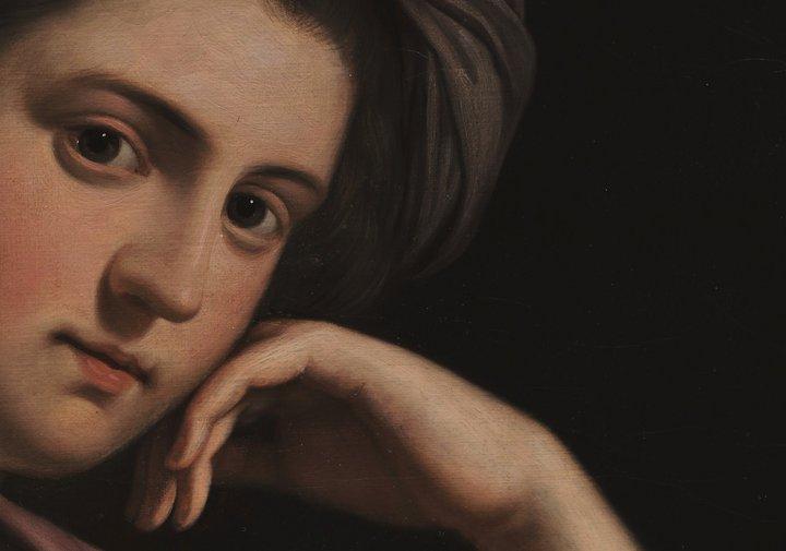 Painting of Benjamin West's: Katherine Clayton, Lady Howard de Walden 1772